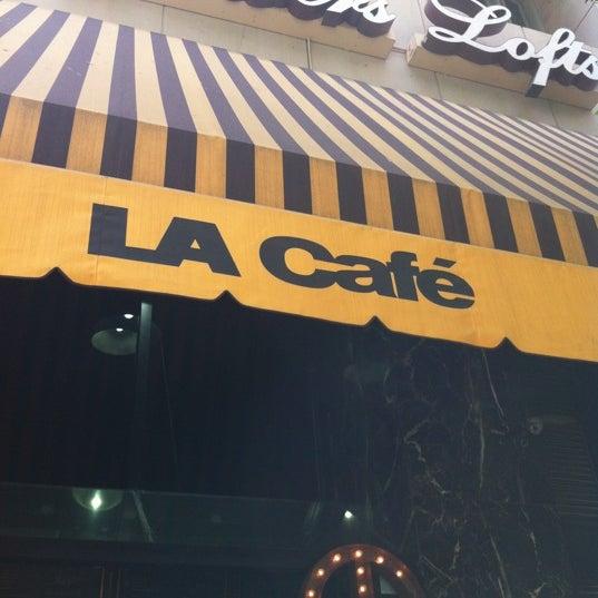 Photo taken at LA Café by Ryan H. on 5/19/2012