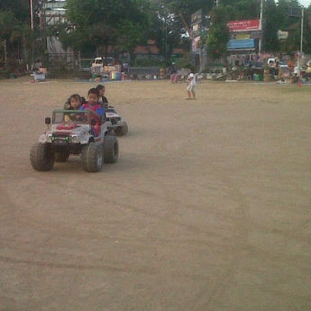 Photo taken at Alun - Alun Sragen by Ruth L. on 7/22/2012