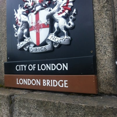 Photo taken at London Bridge by Darryl H. on 8/7/2012
