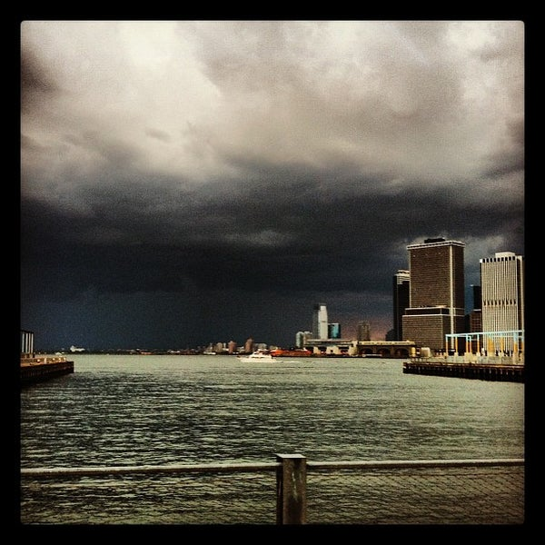 Photo taken at Brooklyn Bridge Park - Pier 6 by Max B. on 8/5/2012