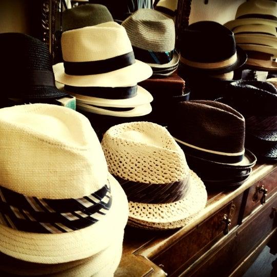 Photo taken at Goorin Bros. Hat Shop by Ron P. on 8/19/2012