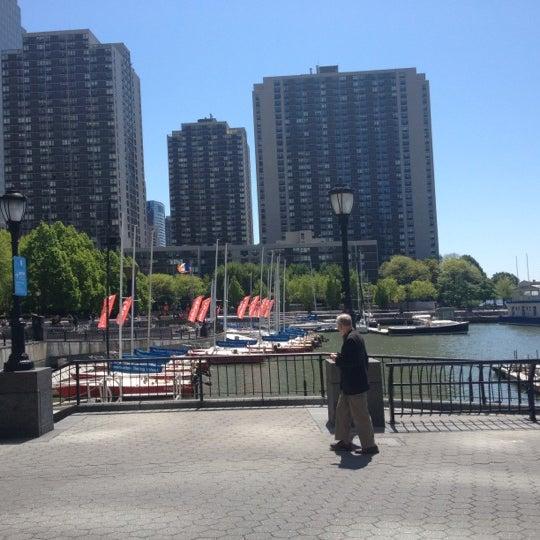 Photo taken at Battery Park City Esplanade by Matt S. on 4/29/2012
