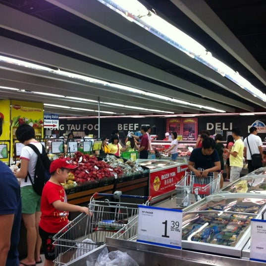 Photo taken at NTUC FairPrice by Michael S. on 3/25/2012
