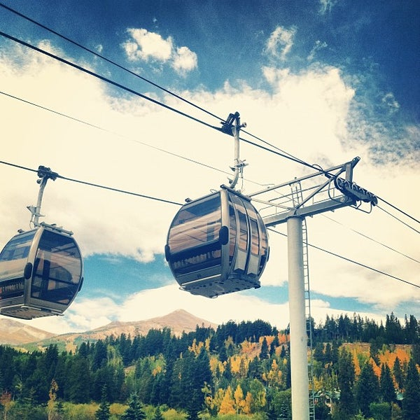 Photo taken at Breck Connect Gondola by Stacy S. on 9/6/2012