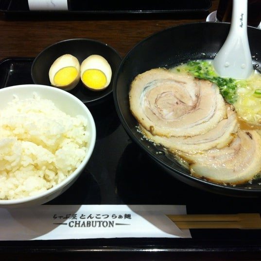 Photo taken at Chabuton Ramen by NANTAWAN O. on 3/5/2012