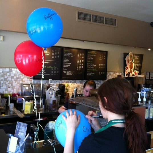 Photo taken at Starbucks by Natalie K. on 6/5/2012