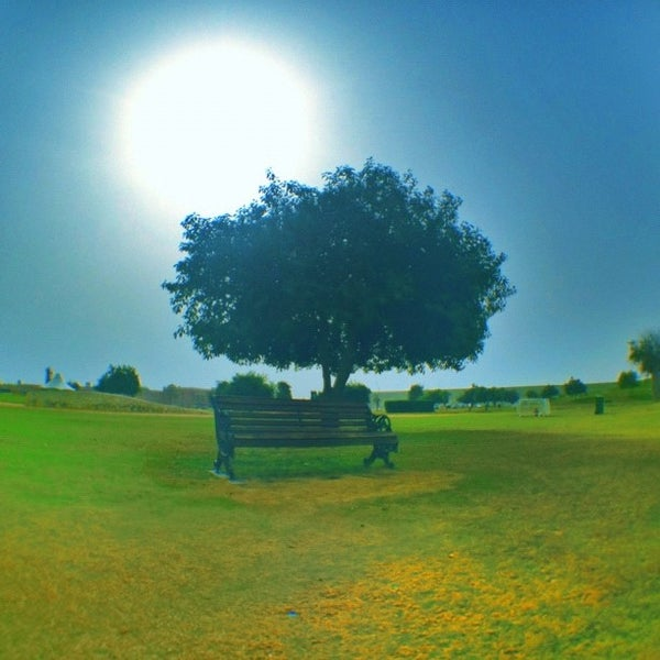 Photo taken at Aspire Park by ibo •. on 6/8/2012
