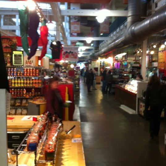 Photo taken at North Market by James C. on 3/1/2012