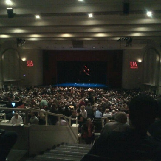 Photo taken at Centennial Hall by Melissa R. on 2/25/2012