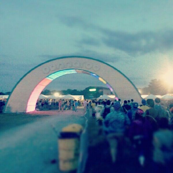 Photo taken at Bonnaroo Music & Arts Festival by Justin B. on 6/10/2012