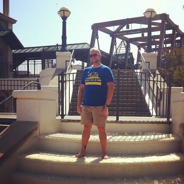 Photo taken at John T. Myers Pedestrian Bridge by Laura M. on 6/21/2012