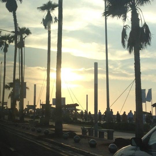 Photo taken at La Corniche de Casablanca by Hala S. on 9/6/2012