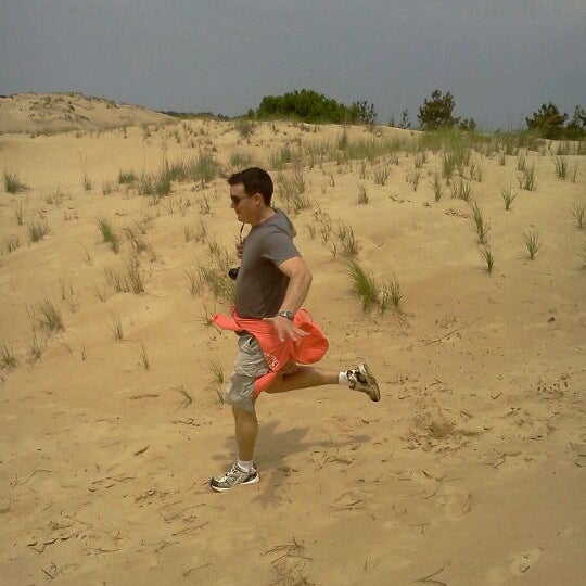 Photo taken at Jockey's Ridge State Park by Sarah P. on 5/18/2012