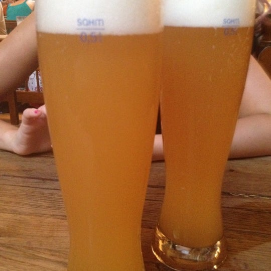 Photo taken at Hofbräuhaus Newport by Jess G. on 6/17/2012