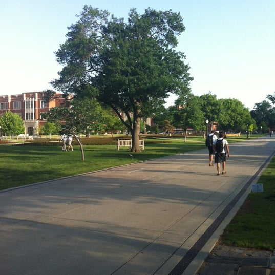 Photo taken at South Oval by Michael R. on 5/1/2012