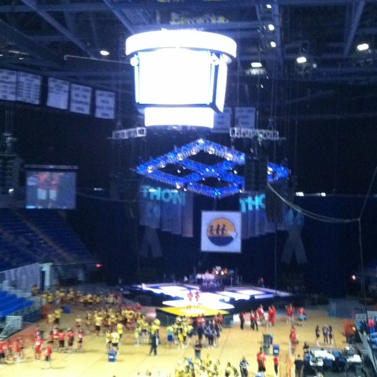Photo taken at Bryce Jordan Center by Mike M. on 2/17/2012
