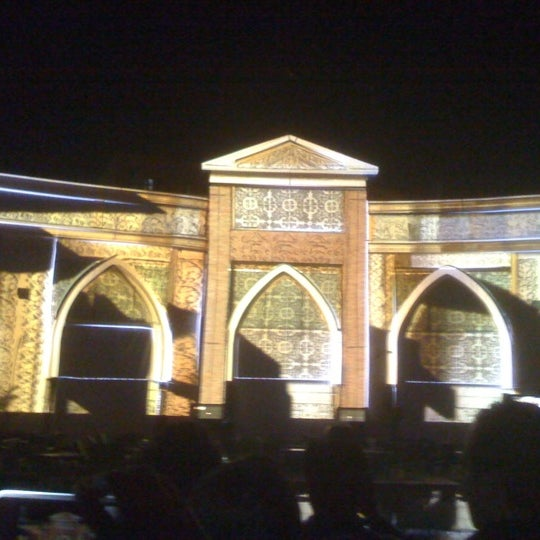 Photo taken at Tivoli Dome by Ehsan H. on 3/23/2012
