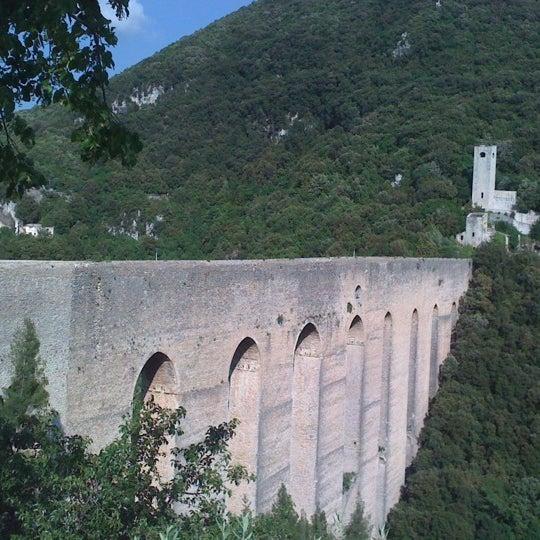 Photo taken at Ponte Delle Torri by Adriana M. on 6/2/2012