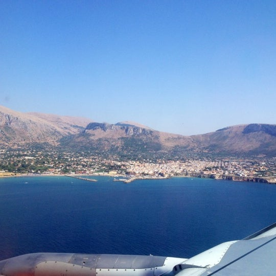 Photo taken at Palermo Airport (PMO) by Алена С. on 8/3/2012