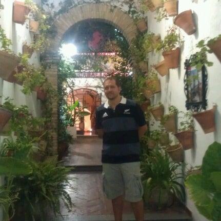 Photo taken at Restaurante El Caballo Rojo by Víctor P. on 8/10/2012