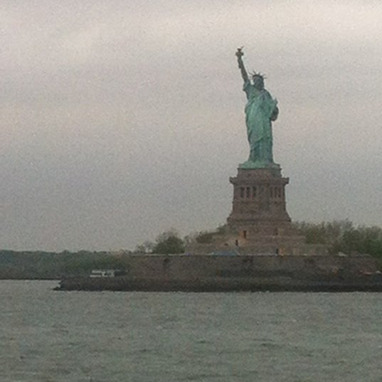 Photo taken at Staten Island Ferry Boat - Guy V. Molinari by Erin M. on 4/23/2012