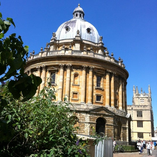 Photo taken at Radcliffe Camera by Victor S. on 8/10/2012