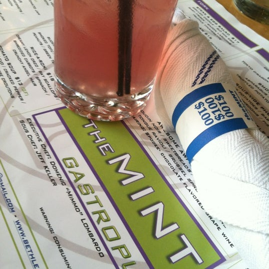 Photo taken at TheMINT Gastropub by Julie on 6/19/2012