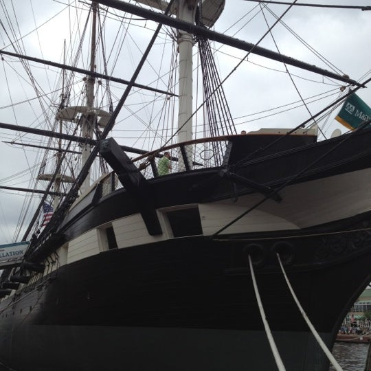 Photo taken at USS Constellation by Nate L. on 6/17/2012