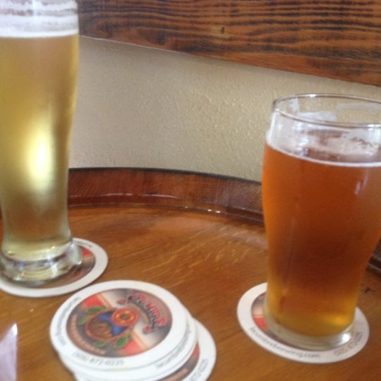 Photo taken at La Cumbre Brewing Company by Matthew M. on 6/16/2012