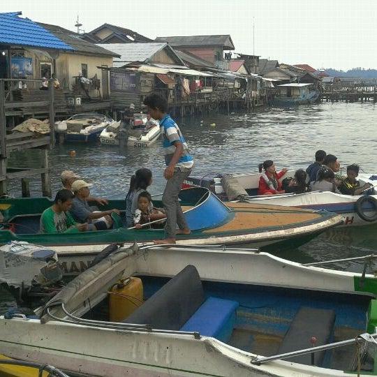 Photo taken at Pelabuhan speedboat kampung baru by Marwan M. on 2/9/2012