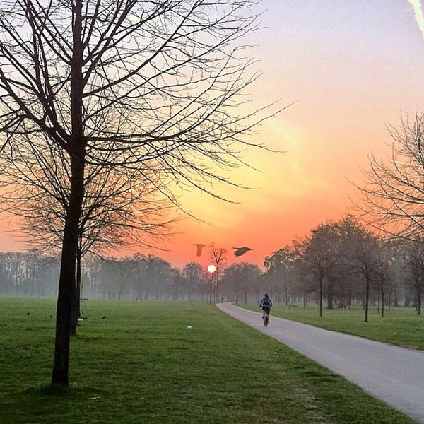 Photo taken at Kensington Gardens by Richard J B W. on 3/30/2012