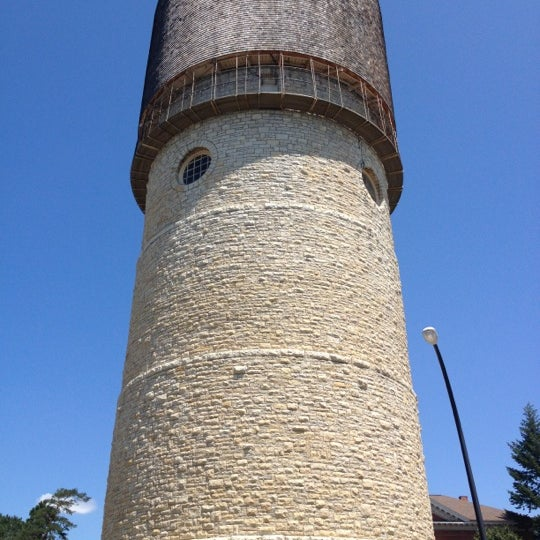 Photo taken at Ypsilanti Water Tower by Caleb C. on 8/2/2012