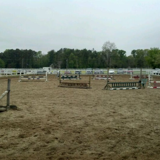Photo taken at Oakshade Stables by Syd A. on 5/5/2012