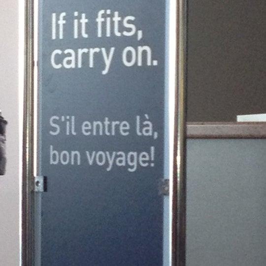 Photo taken at Saskatoon John G. Diefenbaker International Airport (YXE) by Devin L. on 7/9/2012