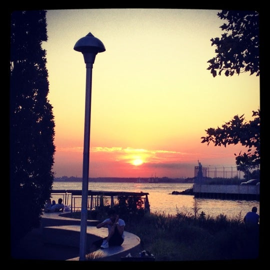 Photo taken at Louis Valentino, Jr. Park & Pier by Mary S. on 8/1/2012