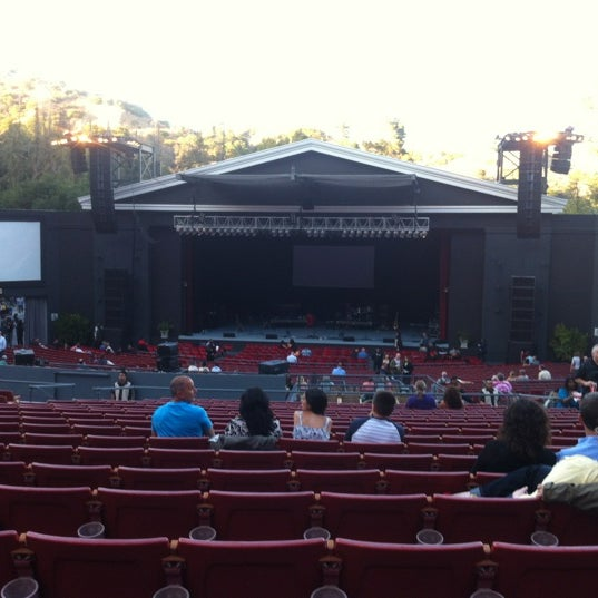 Photo taken at The Greek Theatre by Hank G. on 7/1/2012