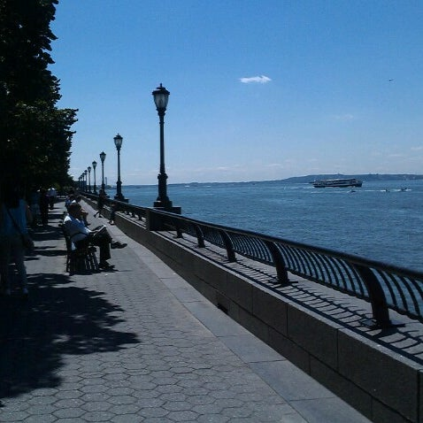 Photo taken at Battery Park City Esplanade by Guadalupe C. on 8/29/2012