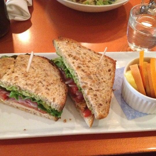Photo taken at Lula Café by Courtney C. on 4/18/2012