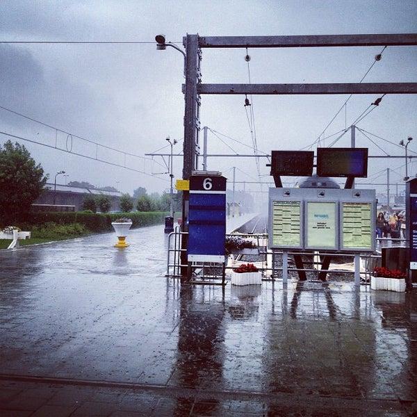 Photo taken at Station Blankenberge by Kris V. on 8/6/2012