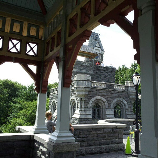 Photo taken at Belvedere Castle by Mike D. on 7/21/2012