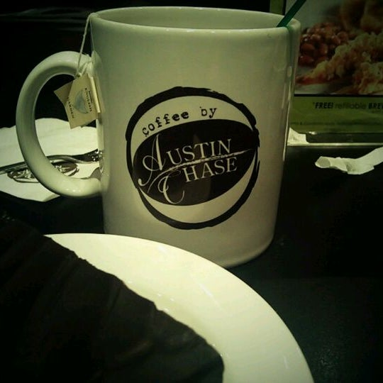 Photo taken at Austin Chase Coffee by KM Y. on 5/6/2012