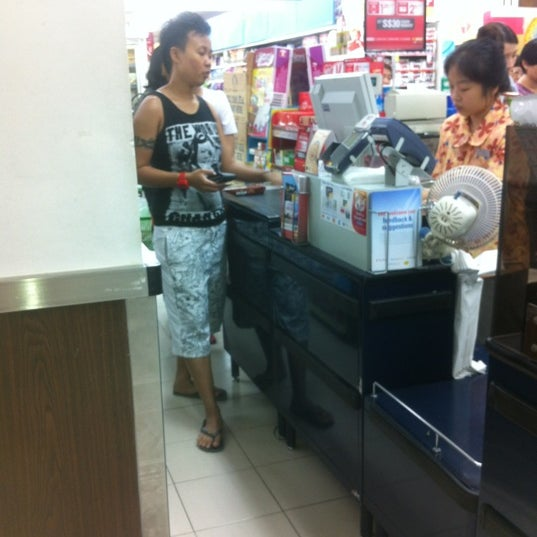Photo taken at NTUC FairPrice by Renesmee D. on 3/21/2012