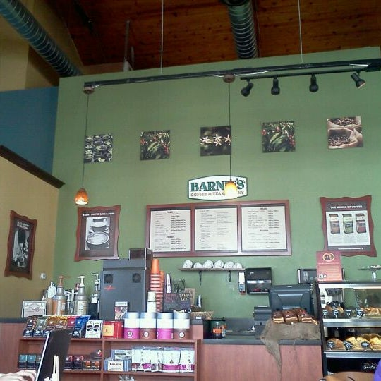 Photo taken at Barnie's Coffee & Tea Company by Belle S. on 2/11/2012