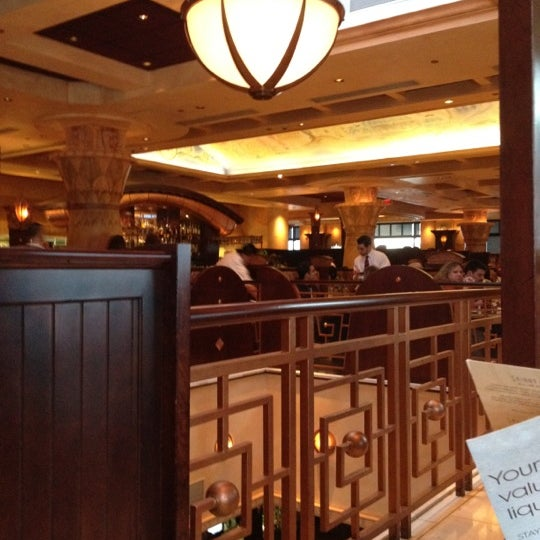 Photo taken at The Cheesecake Factory by Meg ✈️ on 3/25/2012