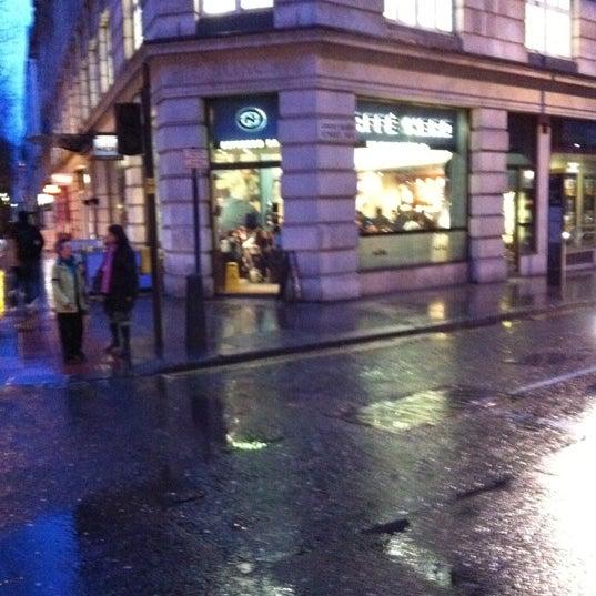 Photo taken at Caffè Nero by Talha Y. on 3/4/2012