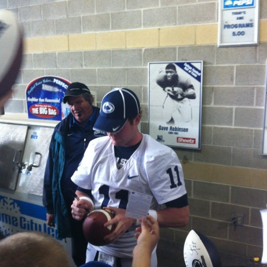 Photo taken at Beaver Stadium by Curtis A. on 4/21/2012