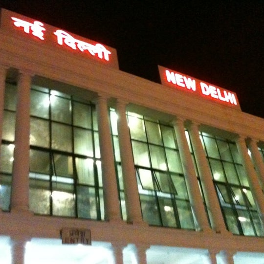 Photo taken at New Delhi Railway Station (NDLS) by abhay b. on 7/21/2012