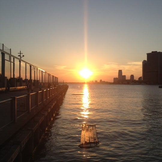 Photo taken at Brooklyn Bridge Park - Pier 6 by Willie M. on 6/17/2012