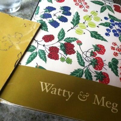 Photo taken at Watty & Meg by Jef H. on 8/3/2012