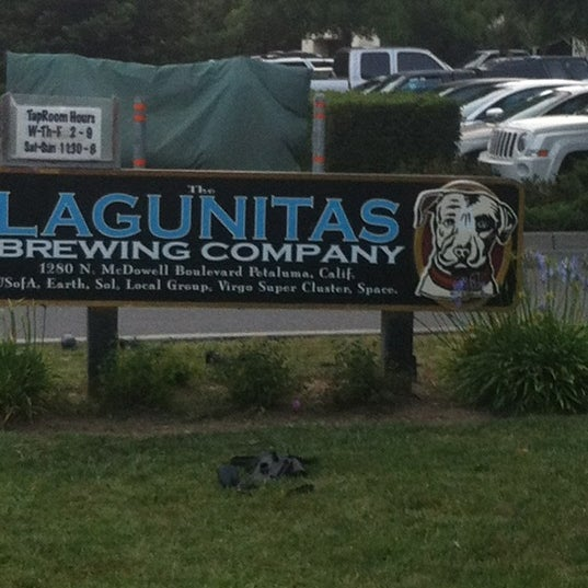 Photo taken at Lagunitas Brewing Company by Janis S. on 6/30/2012